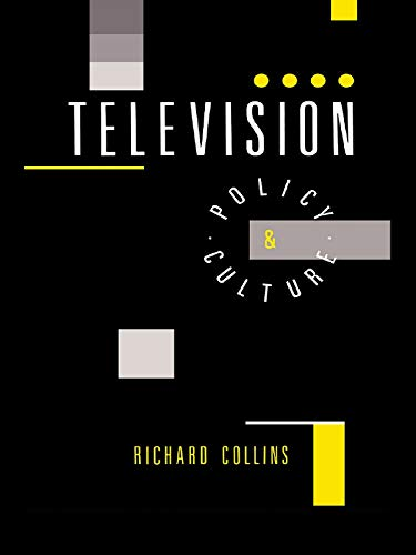 9780044457657: Television: Policy and Culture