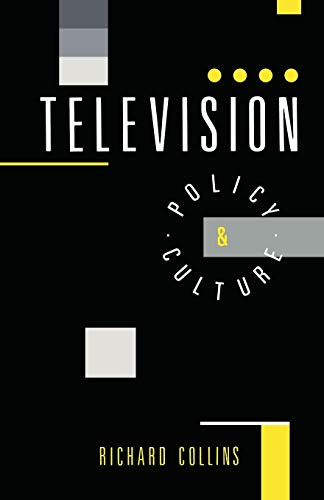 9780044457664: Television: Policy and Culture