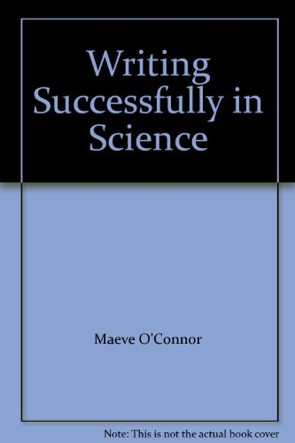 9780044458067: Writing Successfully in Science