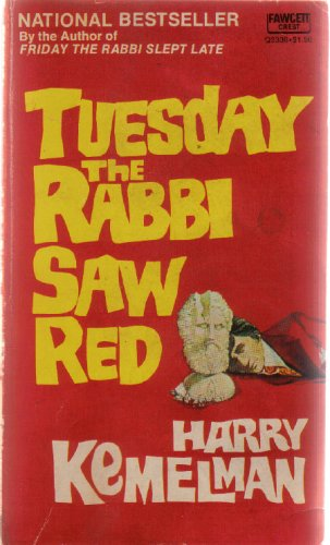 9780044902331: Tuesday the Rabbi Saw Red