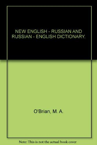 9780044910053: New English-Russian, Russian-English Dictionary