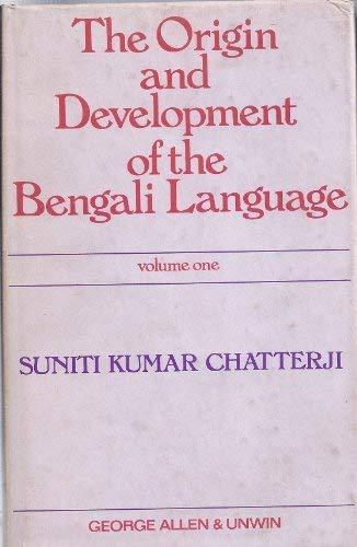 9780044910077: Origin and Development of the Bengali Language: v. 1 (English and Bengali Edition)