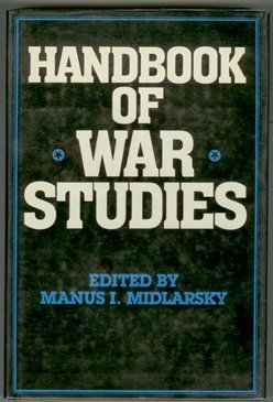 9780044970552: Handbook of War Studies