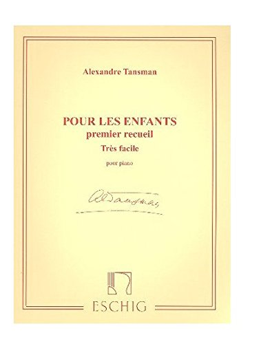 9780045017744: Pour les Enfants Vol. 1 Piano
