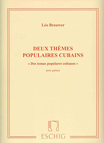 Themes Populaires Cubains (2)?-?Guitar: Brouwer, Leo