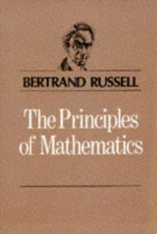 9780045100217: Principles Of Mathematics