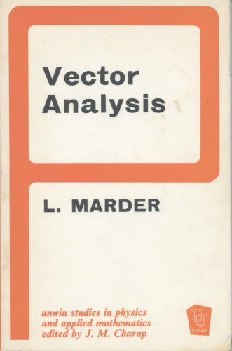 Vector Analysis.: Marder, Leslie
