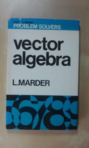 9780045120130: Vector Algebra (Problem Solvers)