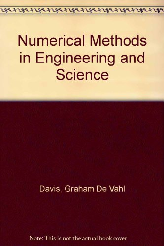 9780045150021: Numerical Methods in Engineering and Science