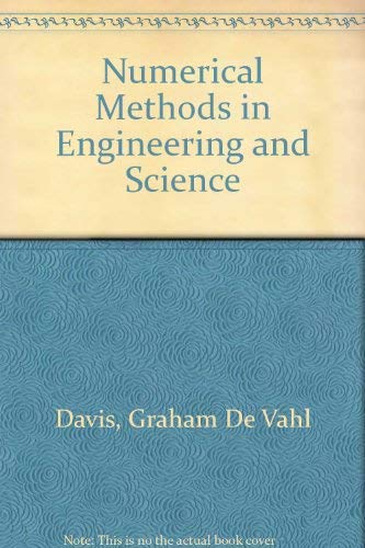 9780045150038: Numerical Methods in Engineering and Science