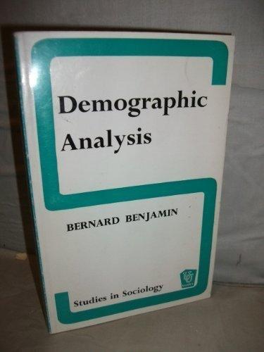 9780045190034: Demographic Analysis (Unwin University Books)