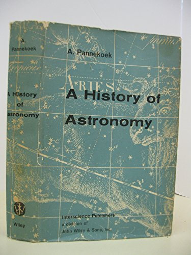 History of Astronomy: Pannekoek, A.