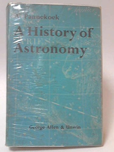 9780045200023: History of Astronomy