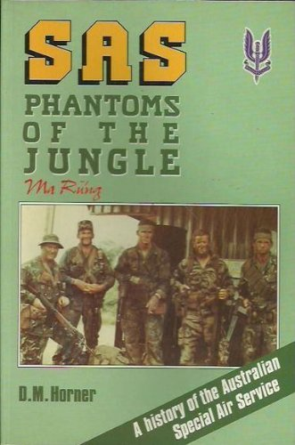 9780045200061: SAS, Phantoms of the Jungle: A History of the Australian Special Air Service
