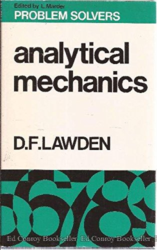 9780045310043: Analytical Mechanics (Problem Solvers)