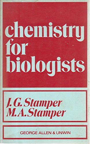 9780045400065: Chemistry for Biologists
