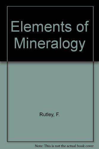 9780045490103: Rutley's Elements of Minerology