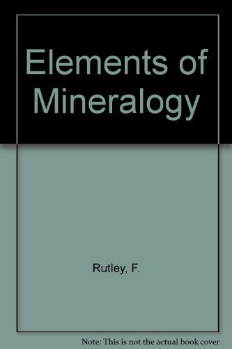 9780045490103: Rutley's Elements of Minerology