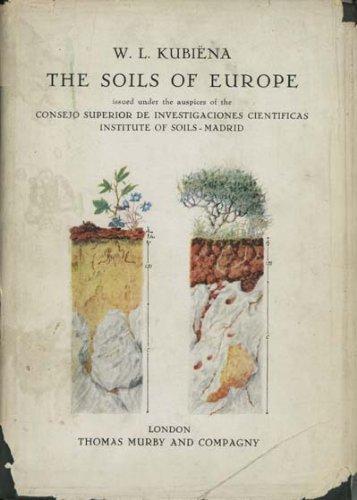 9780045500017: Soils of Europe