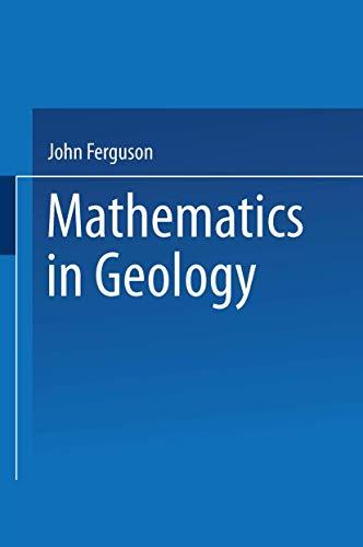 9780045500505: Mathematics in Geology