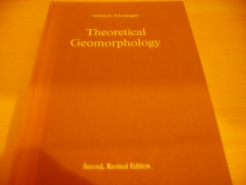 9780045510160: Theoretical geomorphology,