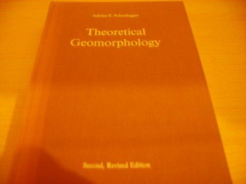 9780045510160: Theoretical geomorphology,