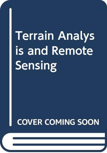 9780045510368: Terrain Analysis and Remote Sensing