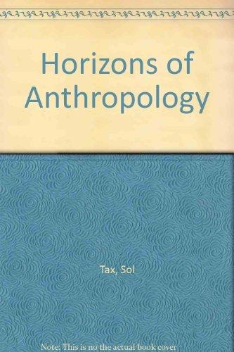 9780045730032: Horizons of Anthropology