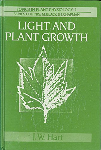 9780045810222: Light and Plant Growth (Topics in Plant Physiology)