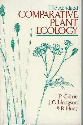 9780045810277: The Abridged Comparative Plant Ecology