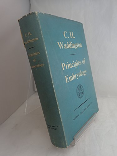 9780045910083: Principles of Embryology