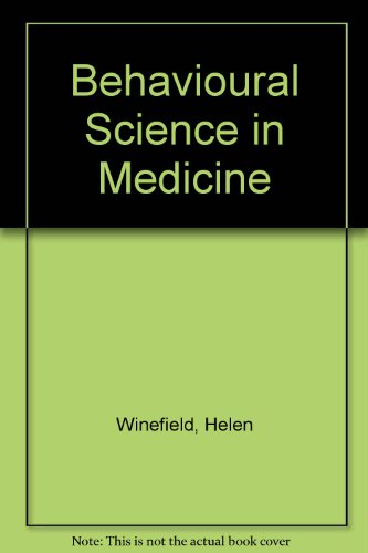 9780046100148: Behavioural Science in Medicine
