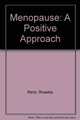 9780046120351: Menopause - a Positive Approach