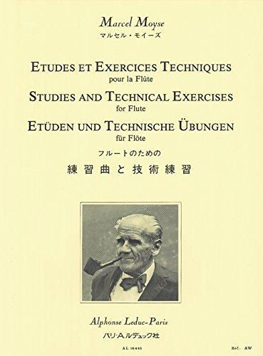 9780046164430: ETUDES ET EXERCICES TECHNIQUES FLUTE