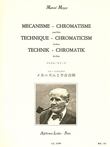 9780046173951: Mecanisme - Chromatisme pour flute (Technique - Chromaticism for flute)