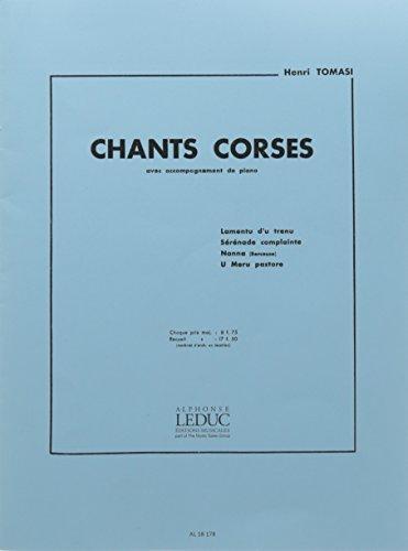 9780046181789: CHANT CORSE N04 U MERU PASTORE CHANT ET PIANO