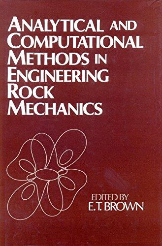 9780046200206: Analytical and Computational Methods in Engineering Rock Mechanics