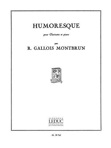 9780046207632: HUMORESQUE CLARINETTE ET PIANO