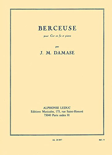 9780046208974: Damase: Berceuse Op.19 (Horn In F & Piano)