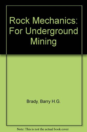 9780046220051: Rock Mechanics: For Underground Mining