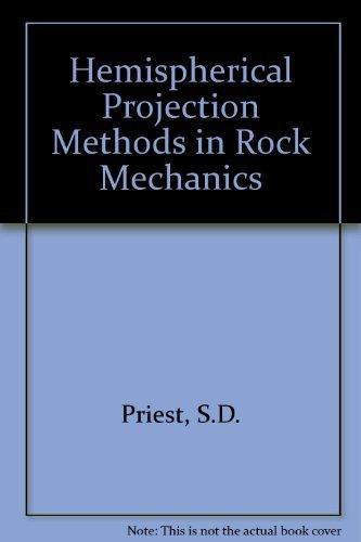 9780046220075: Hemispherical Projection Methods in Rock Mechanics