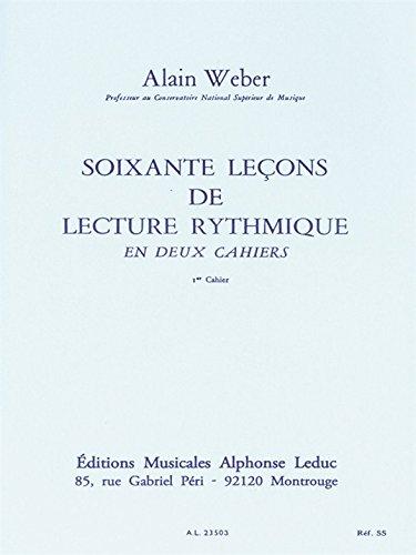 9780046235031: 60 LECONS LECTURE RYTHMIQUE -1 VOLUME 1