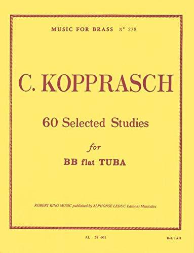 9780046286019: KOPPRASCH C. - Estudios Selectos (60) para Tuba (King)