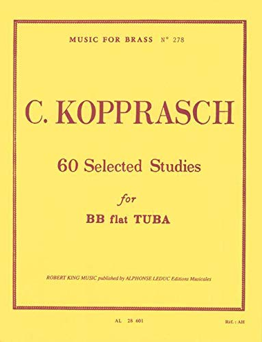 9780046286019: 60 Selected Studies for BB Flat Tuba