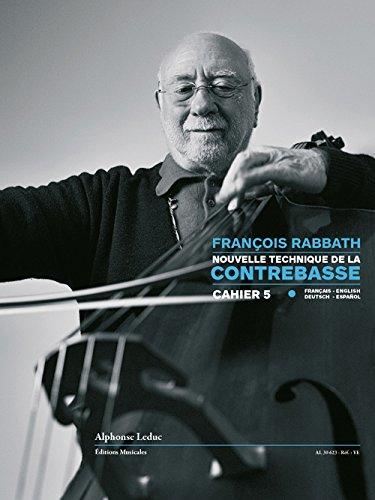 9780046306236: Nouvelle Technique De La Contrebasse - Volume 5