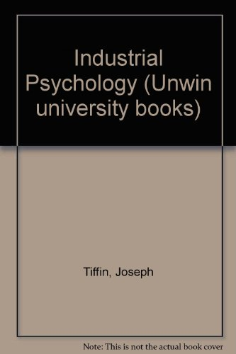 9780046580094: Industrial Psychology