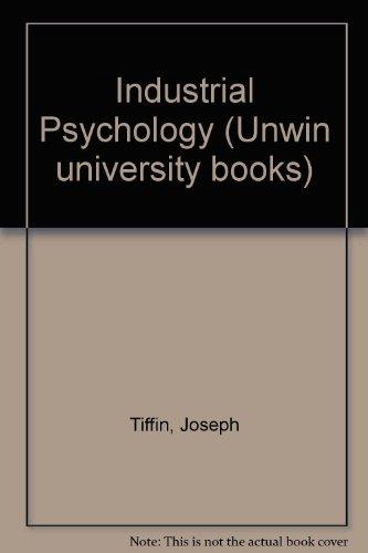 9780046580094: Industrial Psychology (Unwin university books)