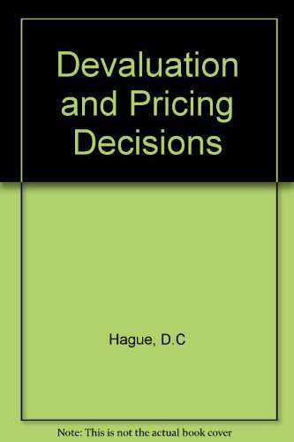 9780046582111: Devaluation and Pricing Decisions