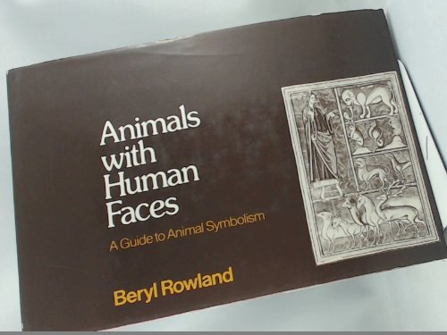 9780047040016: Animals with Human Faces: A Guide to Animal Symbolism
