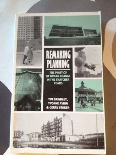 9780047110221: Remaking Planning